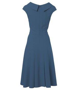 Anna Dress Pear Blue