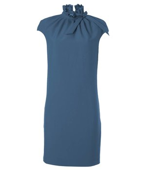 Dora Dress Rectangle Blue