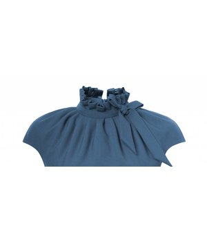 Dora Dress Pear Blue