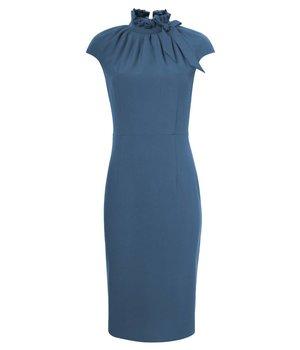 Dora Dress Hourglass Blue
