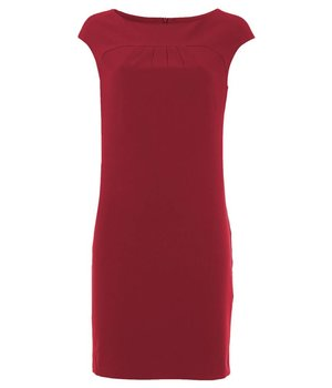 Odrey Dress Rectangle Red