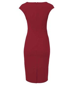 Odrey Dress Hourglass Red