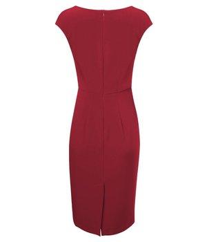 Aurora Dress Hourglass Red