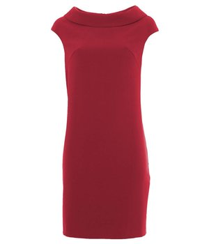 Anna Dress Rectangle Red