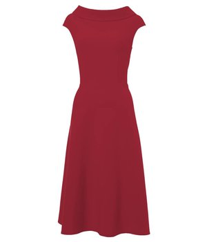 Anna Dress Pear Red