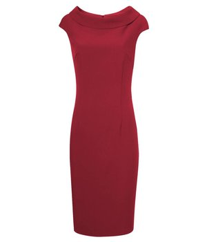 Anna Dress Hourglass Red