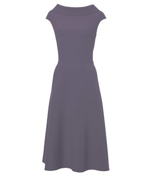 Anna Dress Pear Lilac