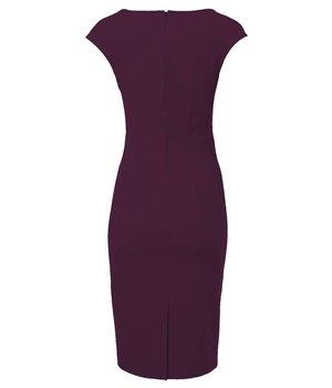 Odrey Dress Hourglass Purple