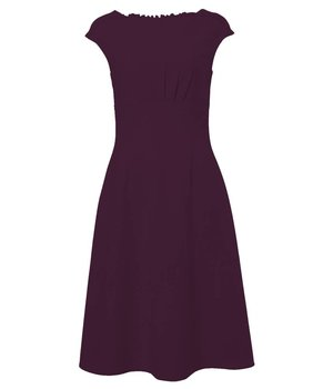 Emmy Dress Pear Purple