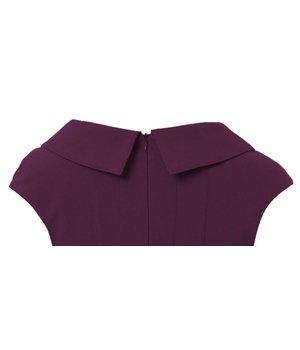 Anna Dress Pear Purple