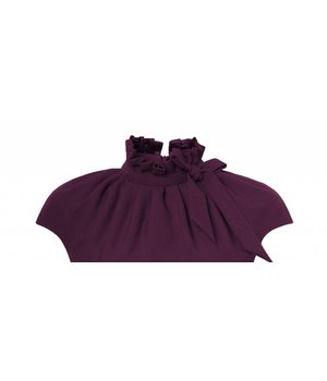 Dora Dress Rectangle Purple