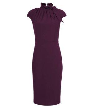 Dora Dress Hourglass Purple