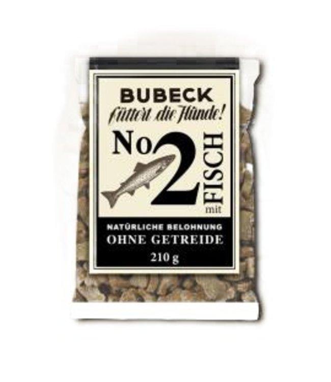 Bubeck - Nr. 2 mit Fisch gebacken - die getreidefreie Belohnung mit dem besten des Fisches gebacken