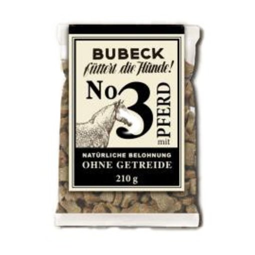 Bubeck - Nr. 3 mit Pferd gebacken 210g