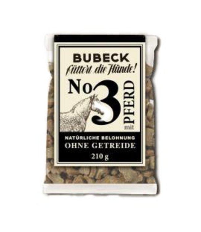 Bubeck - Nr. 3 mit Pferd gebacken - die getreidefreie Belohnung mit dem besten des Pferdes gebacken 210g