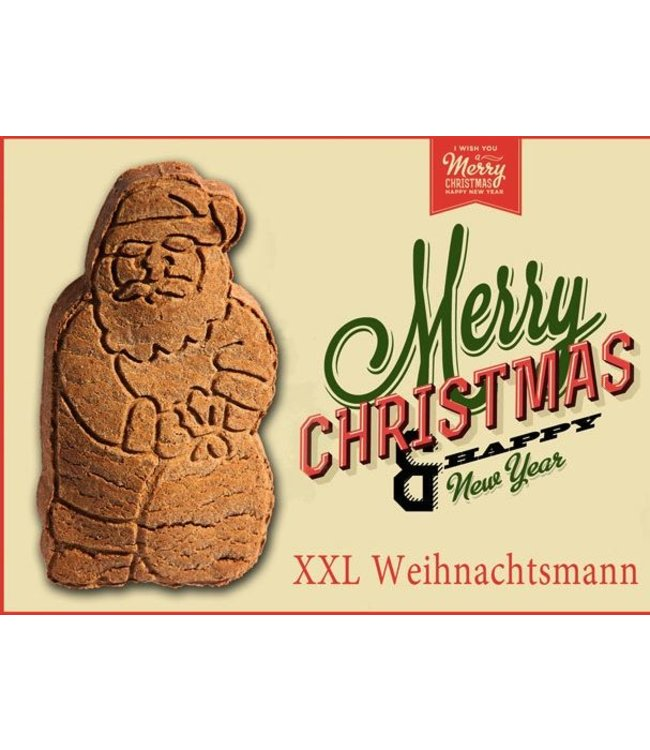 Bubeck - Merry Christmas XXl Weihnachtsmann