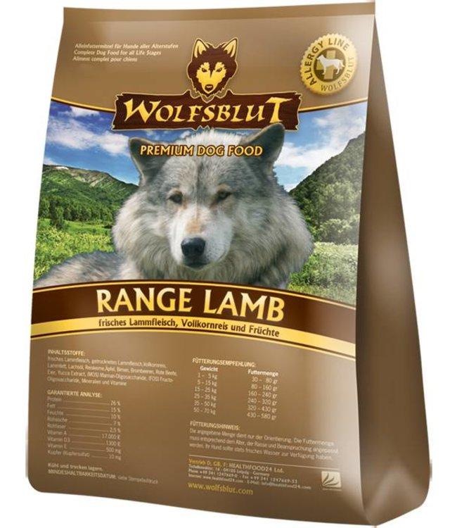 Wolfsblut - Range Lamb mit Lamm und Reis