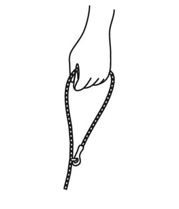 FoundMyAnimal - Indigo Ombre Rope Hundeleine
