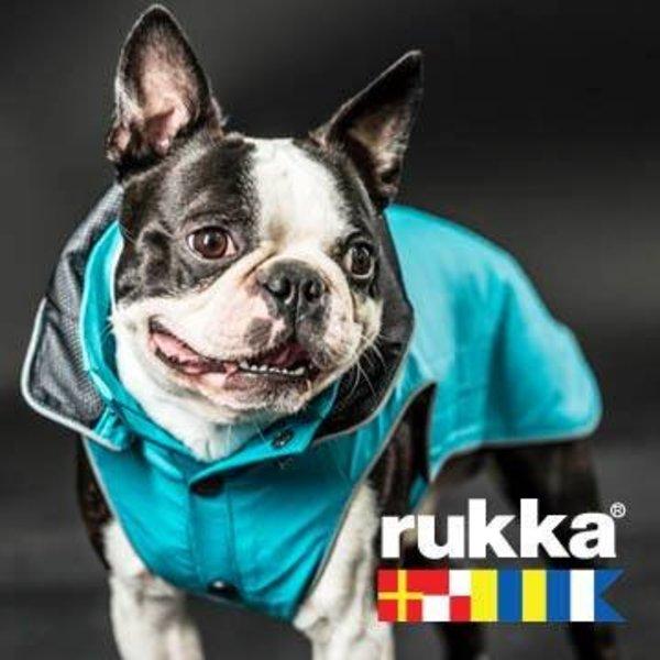 Hunde Regenmantel Stream Turquoise