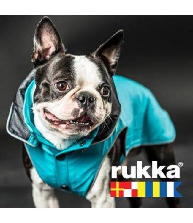 Rukka - Hunde Regenmantel Stream Turquoise