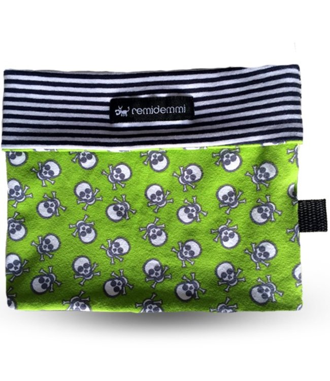 Remidemmi - Dog Loop Skull Green