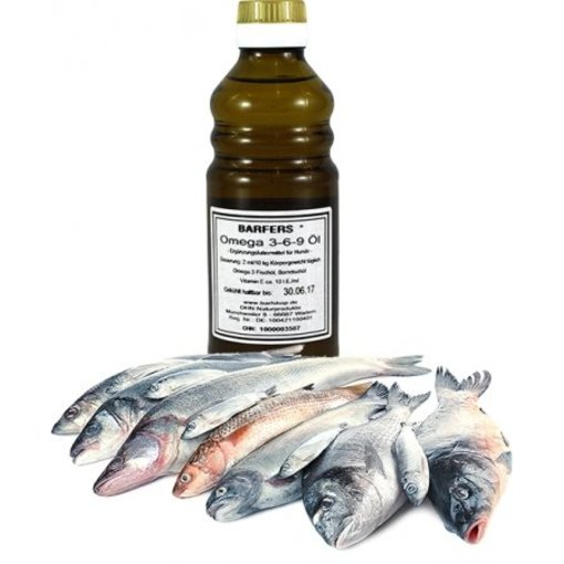 DHN - BARFERS® Omega 3-6-9 Öl