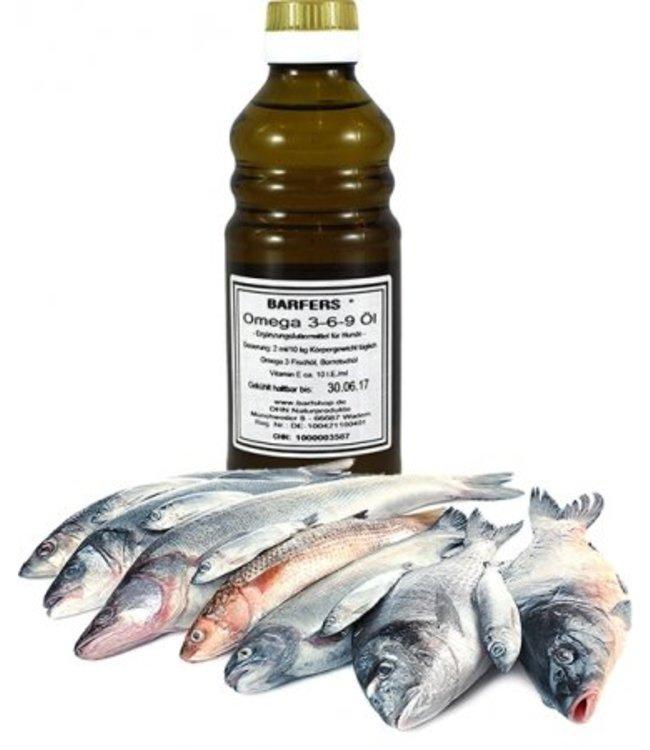 DHN - BARFERS® Omega 3-6-9 Öl 250ml