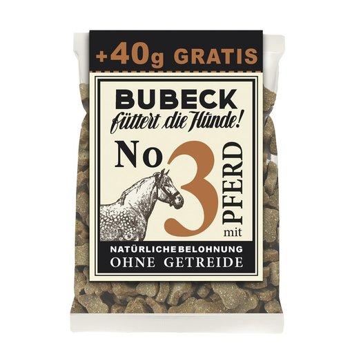 Bubeck - Getreidefreier Snack in Sondergröße 210g + 40g