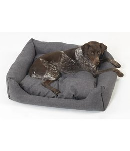 Dogs in the City - Box Bed New York anthrazit