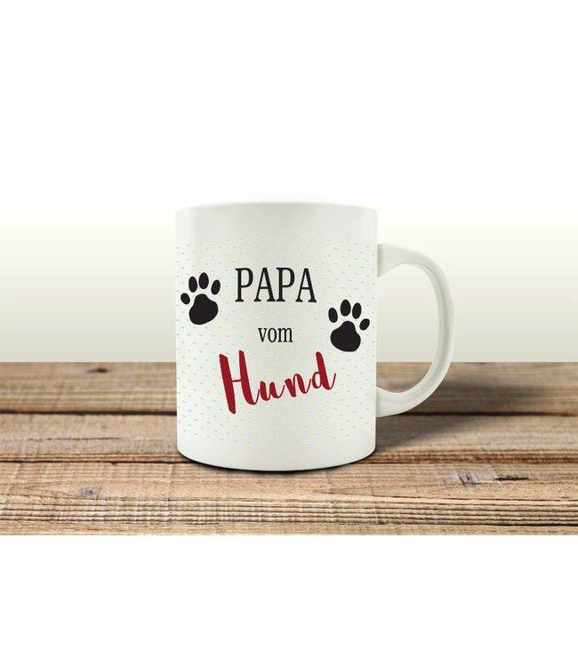 Interluxe - Kaffeebecher Papa vom Hund