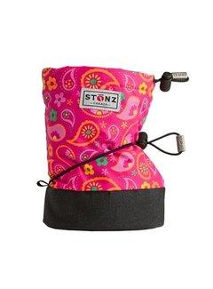 Stonz Stonz Booties Paisley Pink - Fuchsia