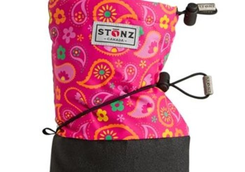 Stonz Booties Paisley Pink - Fuchsia