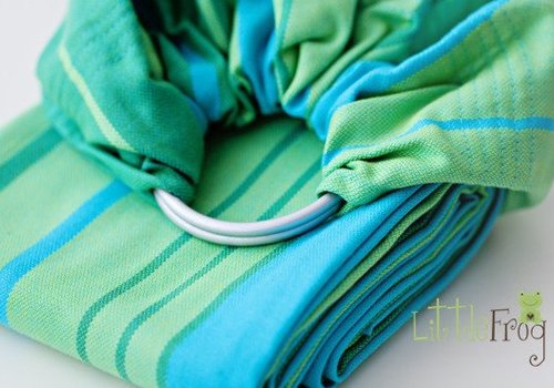 Little Frog Turquoise ring sling