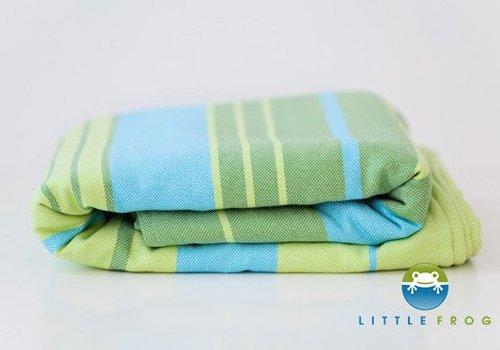 Little Frog Little Frog Draagdoek Little Frog Bamboo Turquoise