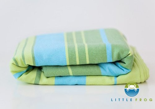 Little Frog Woven wrap Little Frog Bamboo Turquoise