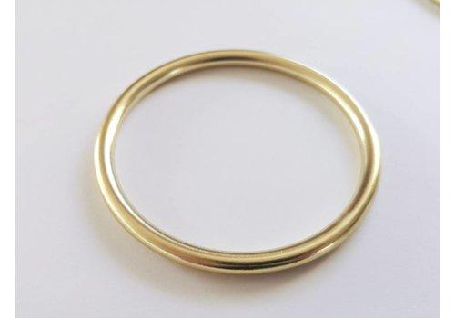ringsling ringen glanzend goud