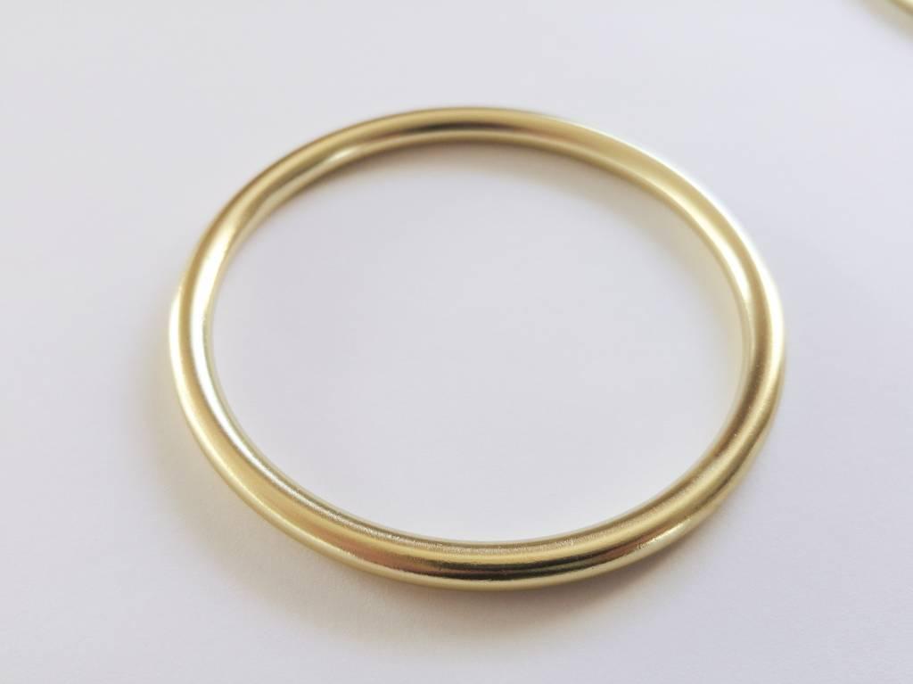 Gold shiny slingrings ringsling rings - Von Va Voom