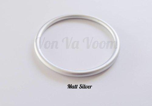 ringsling ringen  zilver mat