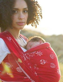 Oscha Woven baby wrap, Oscha Ladybirds Eros