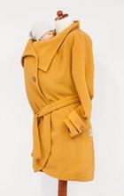 Angelwings  PRE ORDER Woolen babywearing coat yellow
