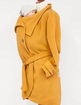 Angel Wings  Woolen babywearing coat yellow