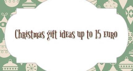 Kerst cadeau tips tot 15 euro