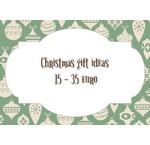 Kerst cadeau tips van 15 tot 35 euro