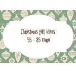 Kerst cadeau tips van 55 tot 85 euro