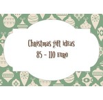 Kerst cadeau tips van 85 tot 110 euro