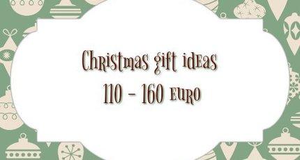 Kerst cadeau tips van 110 tot 160 euro