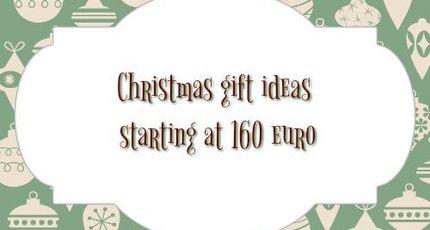Kerst cadeau tips vanaf 160 euro