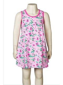 JNY JNY Jurk Sundress Ladybug pink