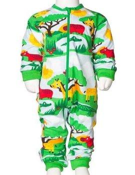 JNY JNY Playsuit Bodysuit with Zip Safari
