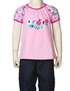 JNY JNY Shirt Puffyshirt s/s Ladybug pink